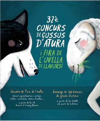 CONCURS CARTELL 32È CONCURS DE GOSSOS D'ATURA I FIRA DE L'OVELLA