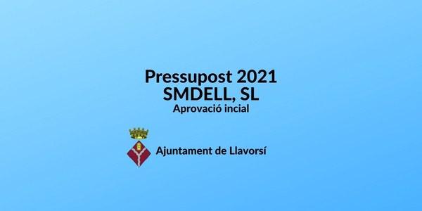 Edicte d'aprovació inicial del pressupost 2021