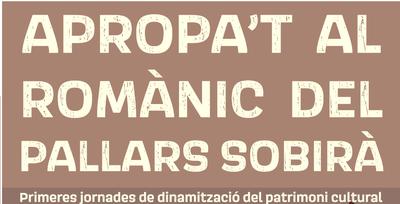 PRIMERES JORNADES DE DINAMITZACIÓ DEL PATRIMONI CULTURAL