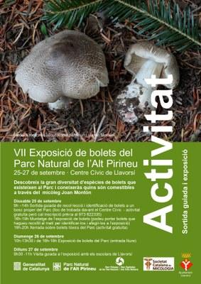 VII Exposició de bolets del Parc Natural de l'Alt Pirineu